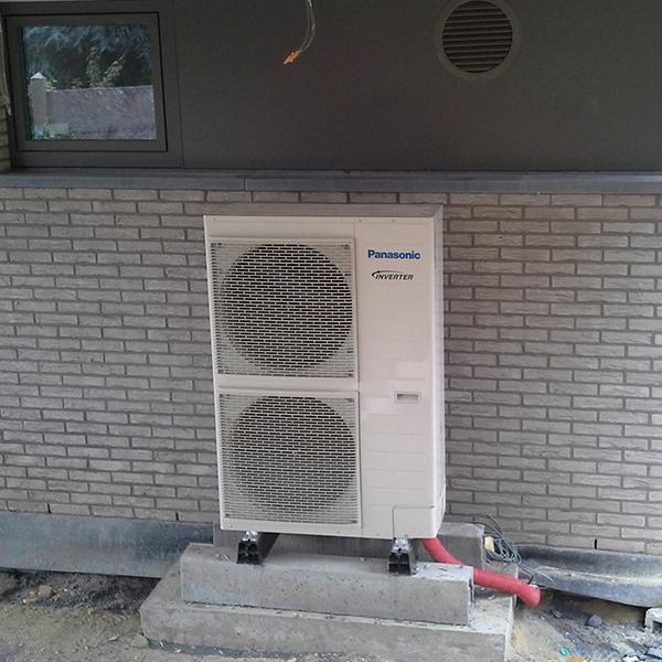 Pompe à chaleur Panasonic installée par Mr Réfrigération en Brabant Wallon