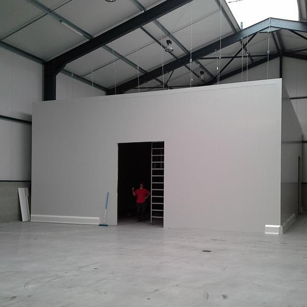Installation chambre froide industrielle à Bruxelles